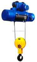 High performance CD 1-20 ton 3 phase mini elevator electric wire rope hoist price