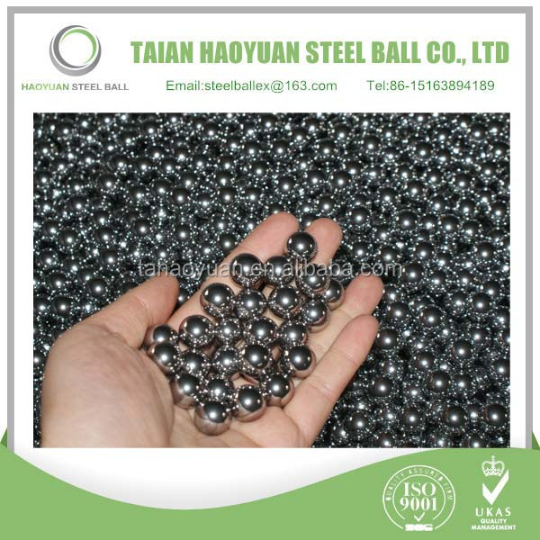 China Haoyuan High quality caster /wheel/bearing Soft polishing carbon steel ball for sale