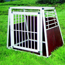heavy duty folding aluminum dog cage wholesale
