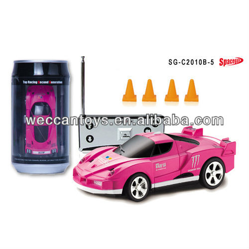 Cool ! 1:58 coke can mini rc car sales promotion gift