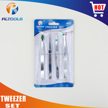 2017 popular selling multifunctional screwdriver promotion tweezer sets