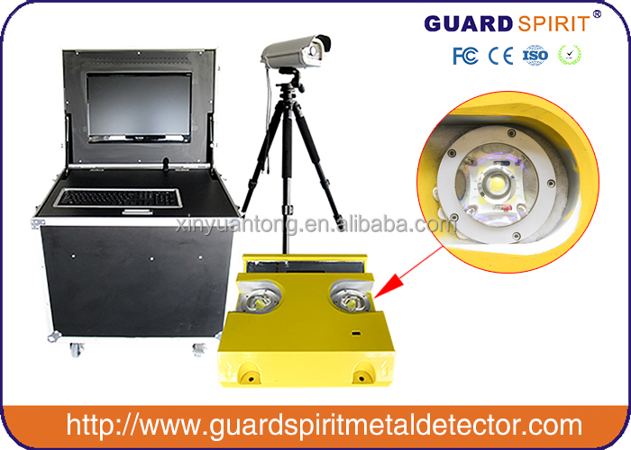 Car bomb detector, car exlposives detector, Under Vehicle Inspection System with clear image
