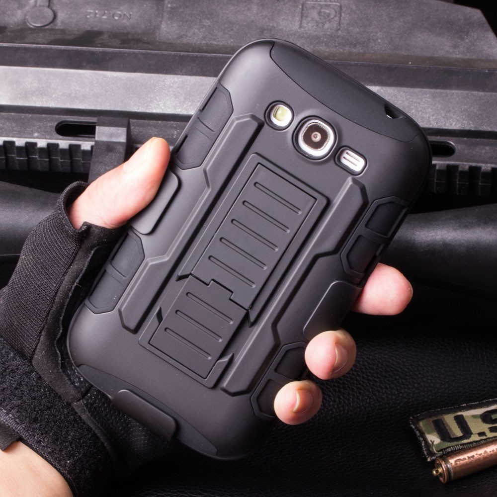 Best Selling Future Armor hybrid case holster combo cover For Samsung Galaxy Grand i9080/Duos i9082,For i9080 Case