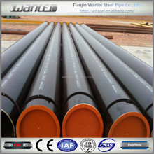 PVC coated seamless steel pipe