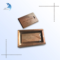 custom pendrive wooden shell general usb flash disk with box