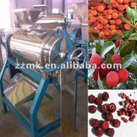 Fruit seed separator for waxberry