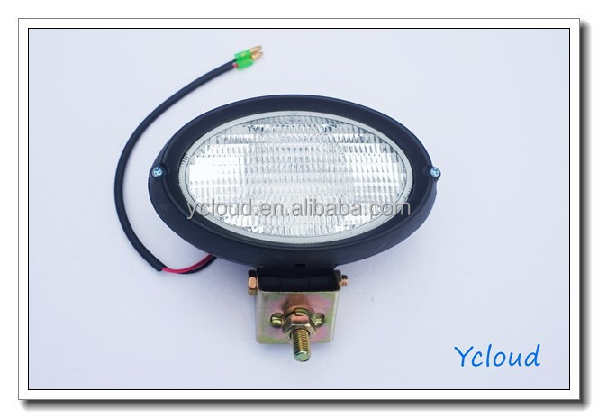 Construction Light Parts : Oem manufacturer halogen jcb working light for loader