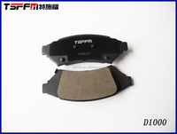 Front Buick car brake pad and parts with low price
