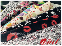 wholesale bag material 1680D polyester oxford pvc coated fabric printing
