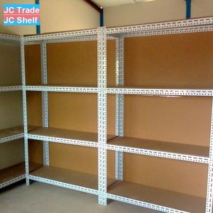 Collapsible Store Slotted Angle Steel Shelf