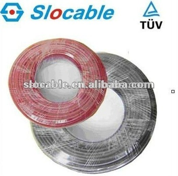 TUV approved 2.5mm pv cable