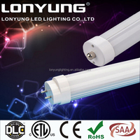 CE RoHs ETL 22w frosted pc cover t8 led bulb, tube led lights