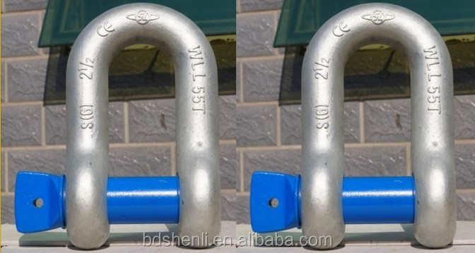 Alloy Steel Forged US type Dee shackle
