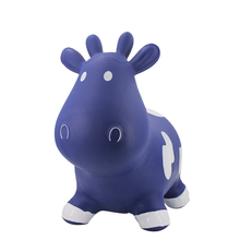 Farm Hoppers Inflatable Bouncing Blue Cow Inflatable PVC Toys