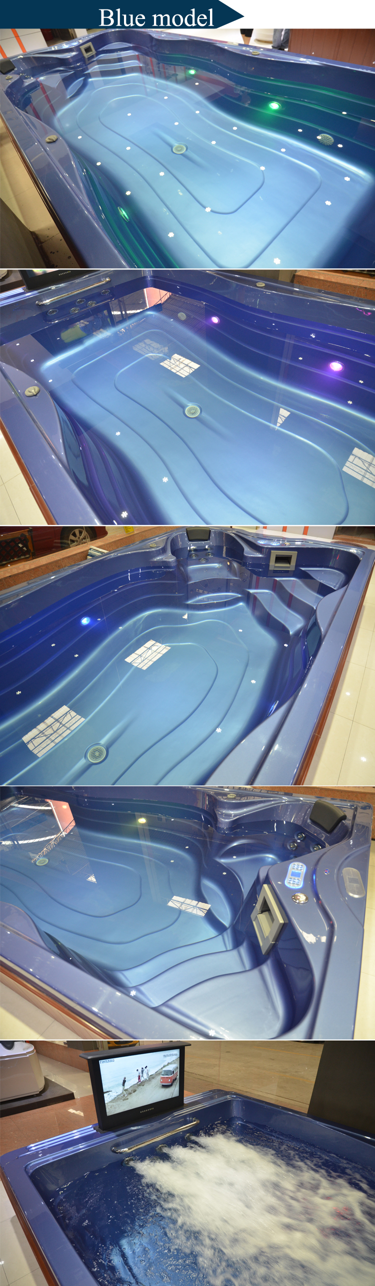 Hs k609 good sale garden acrylic fiberglass pools prices for Fiber glass price
