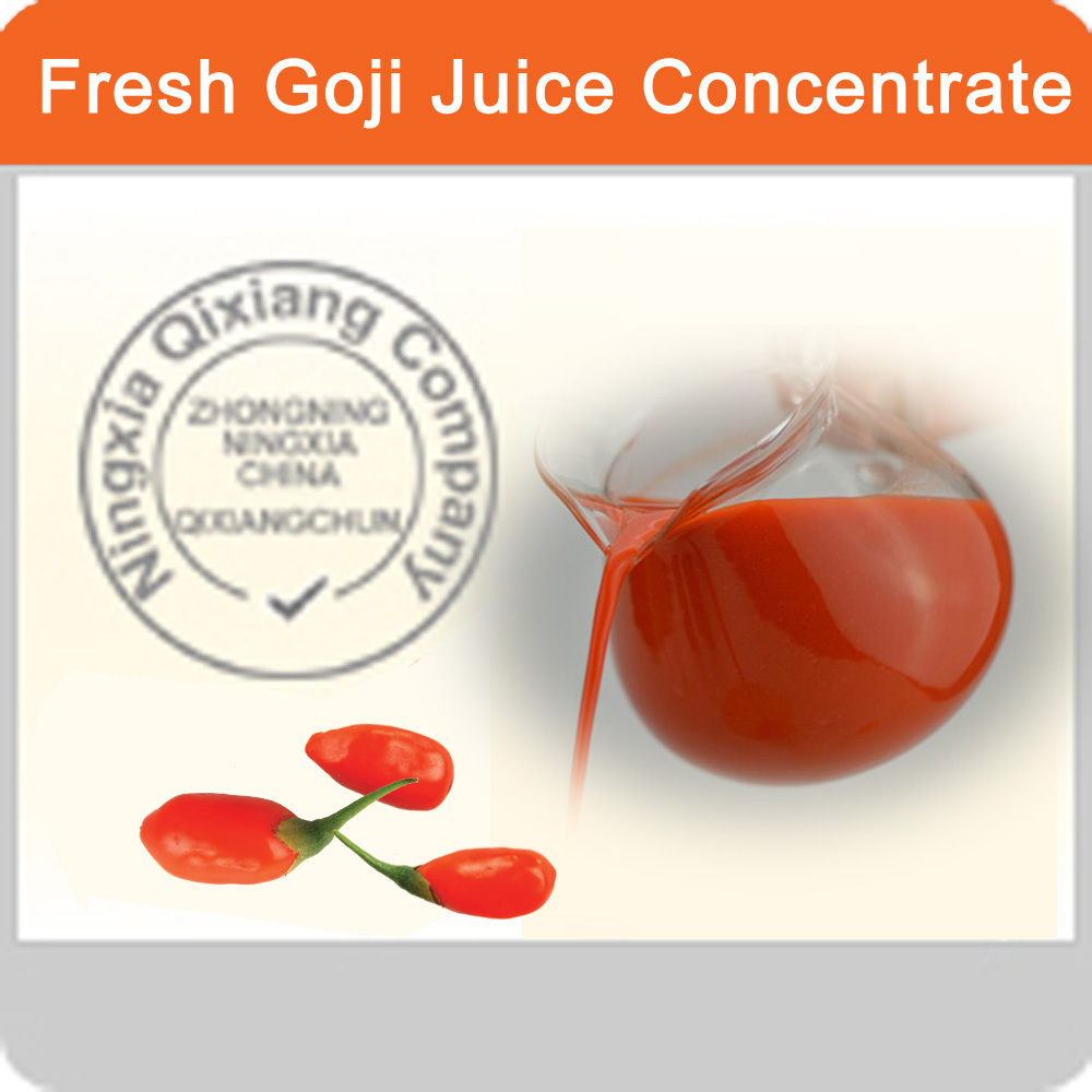 Goji Concentrated Juice Puree--- No any additives of Goji berry Juice