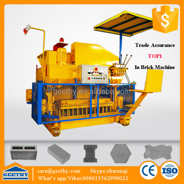 Cadona 1600s cement sand hollow block making machine/ forming for cement blocks