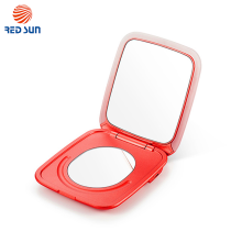 Led Travel Cosmetic Mirror With Magnifier And Power Bank