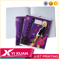 Children book recycled paper school notebook Printing children book publishers in china