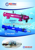 Smart and Blue Models automatic hydraulic filters
