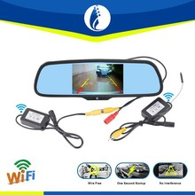 5 inch full hd digital video record navigation gps / android car mirror