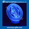 USB Charger 3D Table Led Night Light 3D design Lamp Light