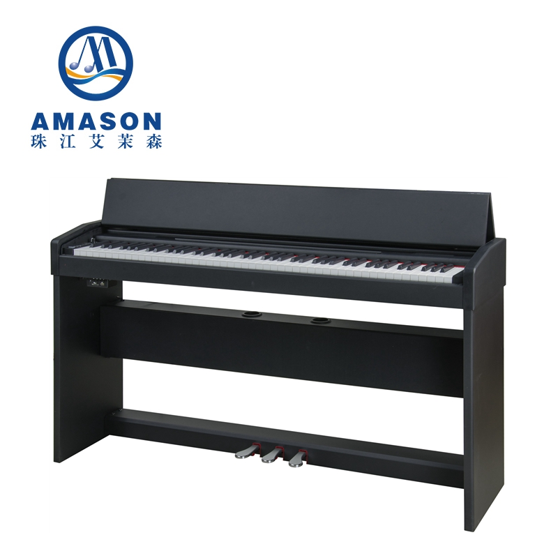 Digital Piano Upright 88 keys hammer action keyboard musical instruments MIDI keyboard piano electronic touch response F-10