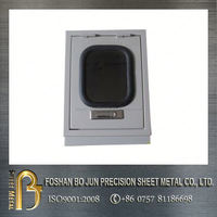 custom manufacturing company good selling floor box with visble glass door product with high quality guarantee