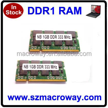 Hot sale sd ram 1gb ddr pc133 sdram laptop ram memory