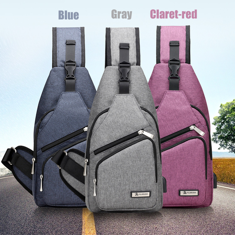Wholesale unisex foldable gym chest sling back pack shoulder bags for <strong>school</strong>