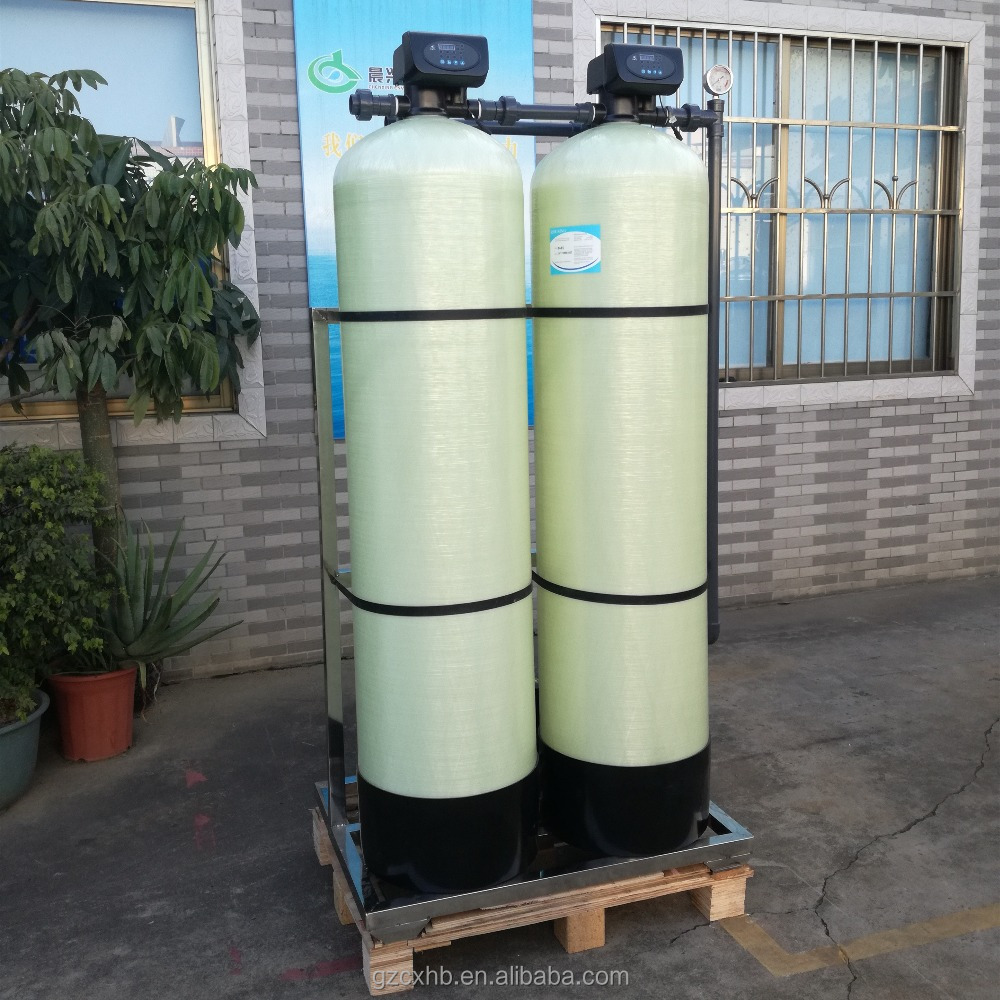 Easy use iron manganese removal water filter/well water purification for underground/well water