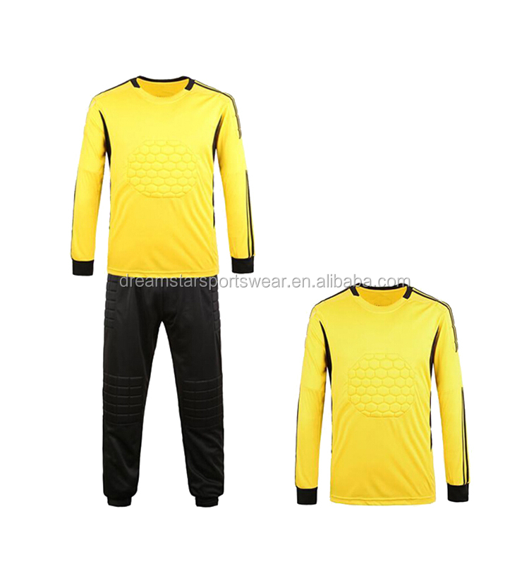 Constom Jersey Soccer Goalkeeper Uniform With Sale Price