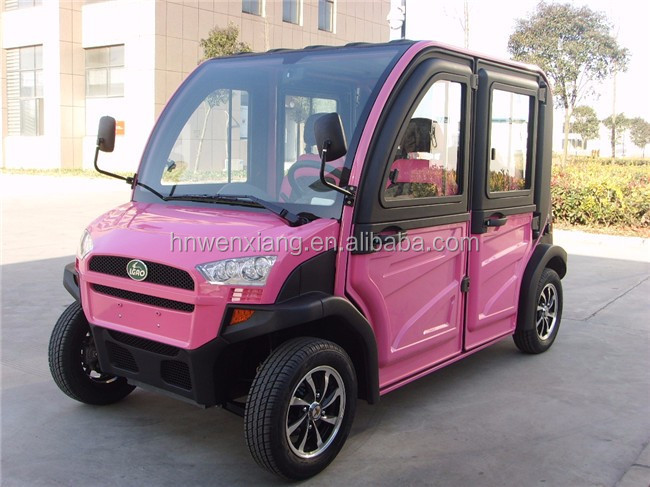 Long Distance Adult Four Seats Electric Car Made In China