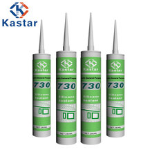 OEM acceptable cartridge gap filling acetic silicone sealant for sale
