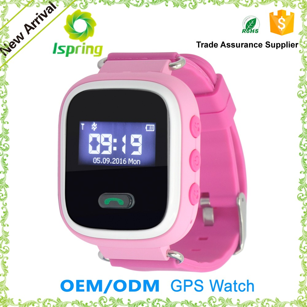 Factory price bluetooth tracker feature android gsm gps kids security smart watch