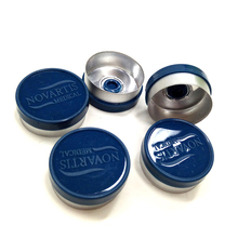 20mm 28mm 32mm crimp vial cap wholesale flip off seal caps custom logo