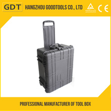 GD5013 Watertight hard Peli cases with wheels,tool trolley case