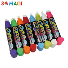 Professional erasable 15mm nib 8 color neon liquid chalk marker for marking