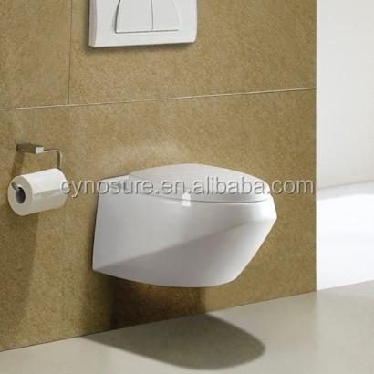 Het hete verkopen cy3211 2014 producten ronde muur gehangen wc toiletten product id 1694807472 - Kleur muur wc ...