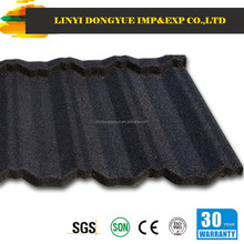 Dongyue brand new technical cheap kerala stone coated metal roof tile