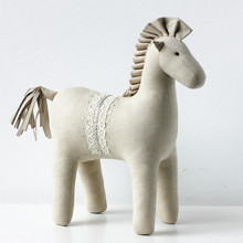 new musical white horse dancing toy