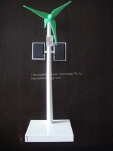 ABS pastic solar windmill model with battery