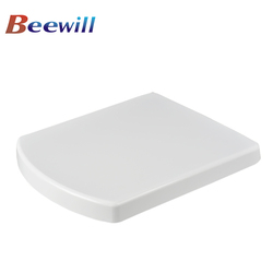 UF square shape toilet seat cover for wall hung toilet