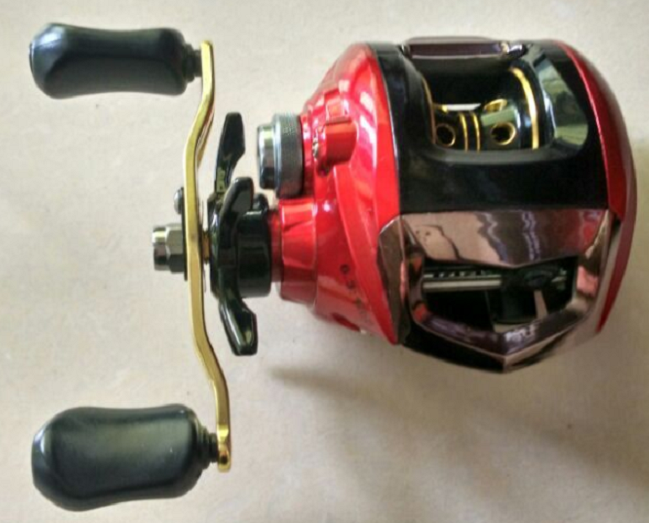 Saltwater 4.5:1 2.5:1 Double Speeds Slow Jigging Reel Drag Casting Fishing Reel