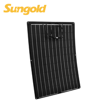 2018 Hot Sale 12v Flex Solar Panel 100W for RV/Boat/Golf cart/Marine/Yachts