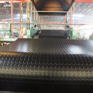 Circular Pattern Round Button Rubber Matting