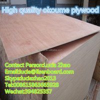 18mm Okoume Plywood For Construction Real