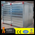 Easy assemble flat pack steel storage warehouse