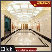 Foshan Jinduo modern yellow polished line stone inside wall tile