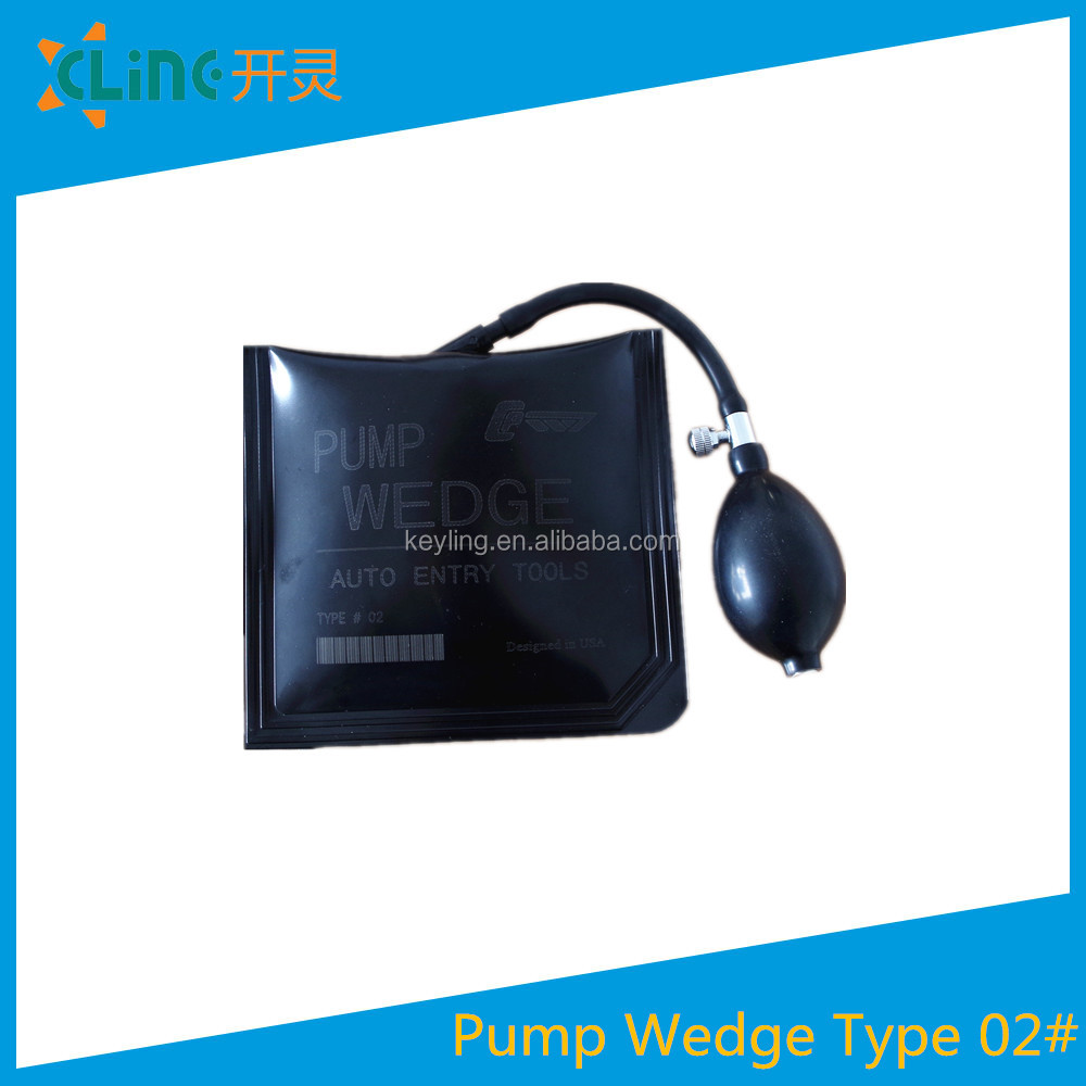 Best price Top Quality Explosion-proof Black air pump wedge Auto Lock Pick Big Original KL Pump Wedge